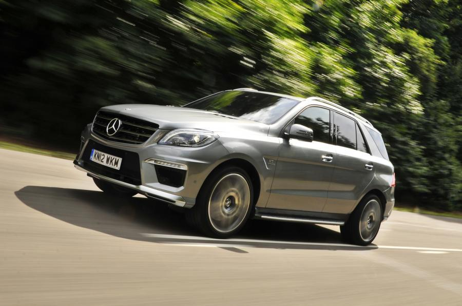 2 star Mercedes-AMG ML 63