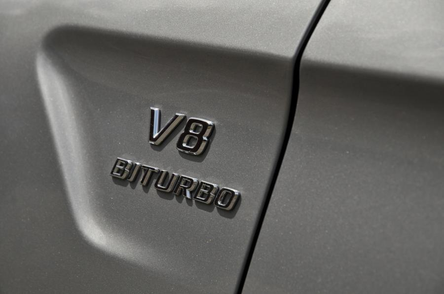 Mercedes-AMG V8 Biturbo badging