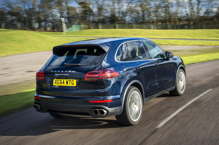 porsche cayenne turbo review 2017 autocar. Black Bedroom Furniture Sets. Home Design Ideas