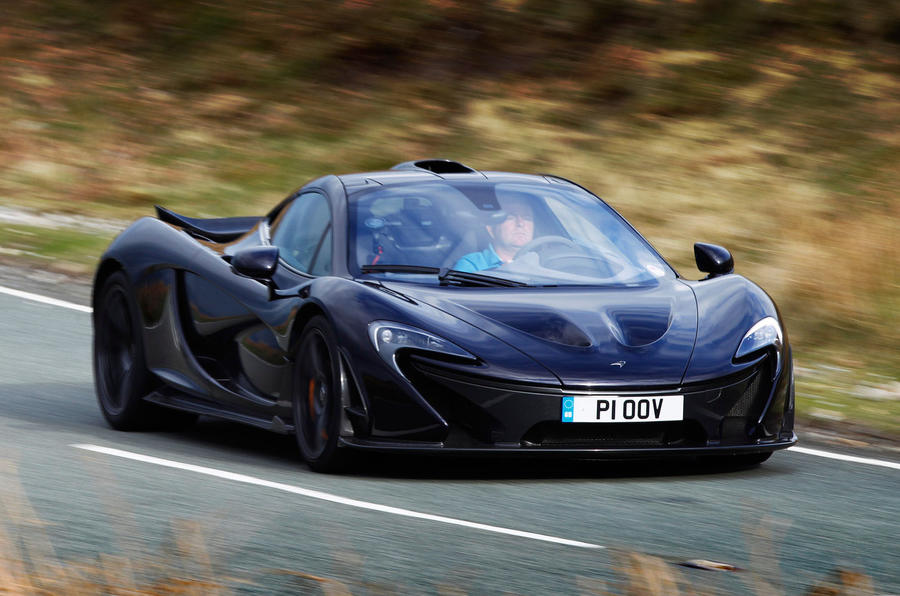 727bhp McLaren P1 hypercar