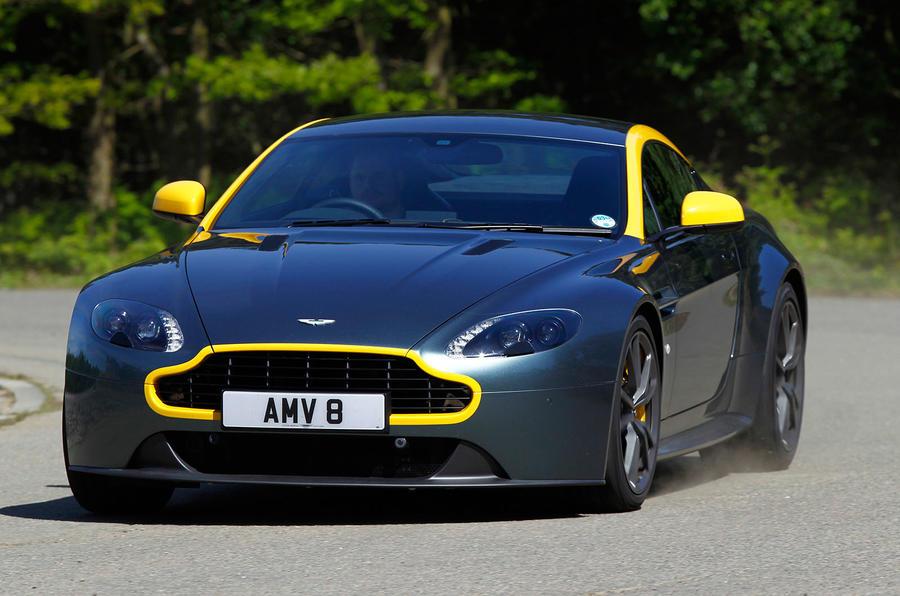 An Aston Martin special edition