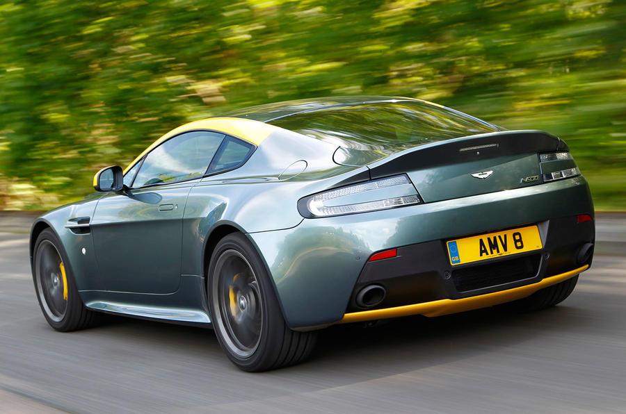 Aston Martin V8 Vantage N430 Review 2016 Autocar