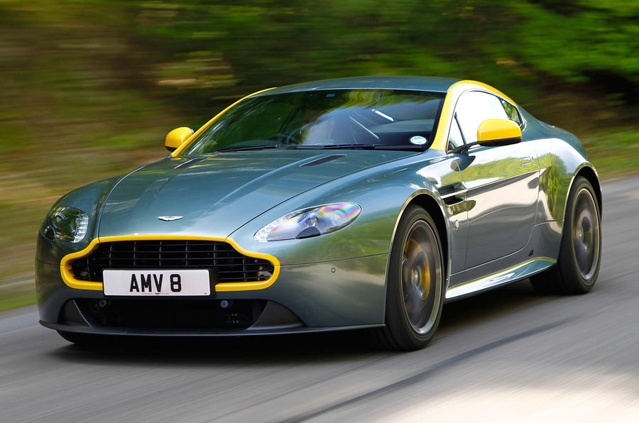 aston martin v8 vantage n430 review 2016 autocar. Black Bedroom Furniture Sets. Home Design Ideas