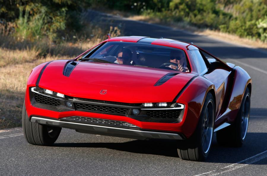 4 star ItalDesign Giugiaro Parcour