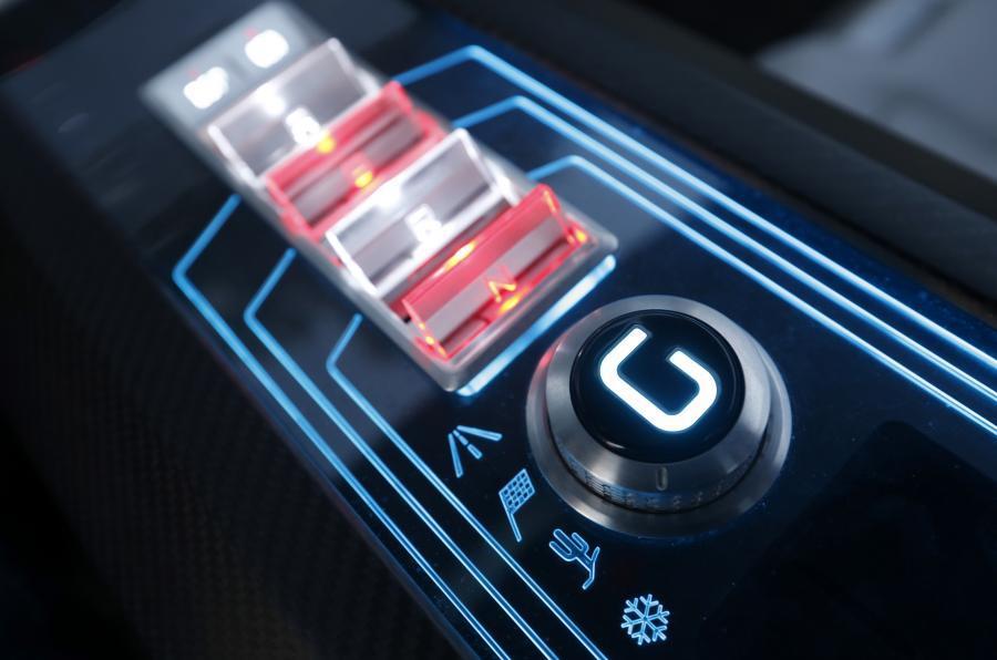 ItalDesign Giugiaro Parcour automatic gearbox