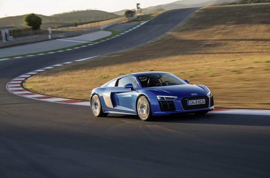 The £134,500 Audi R8 V10 Plus