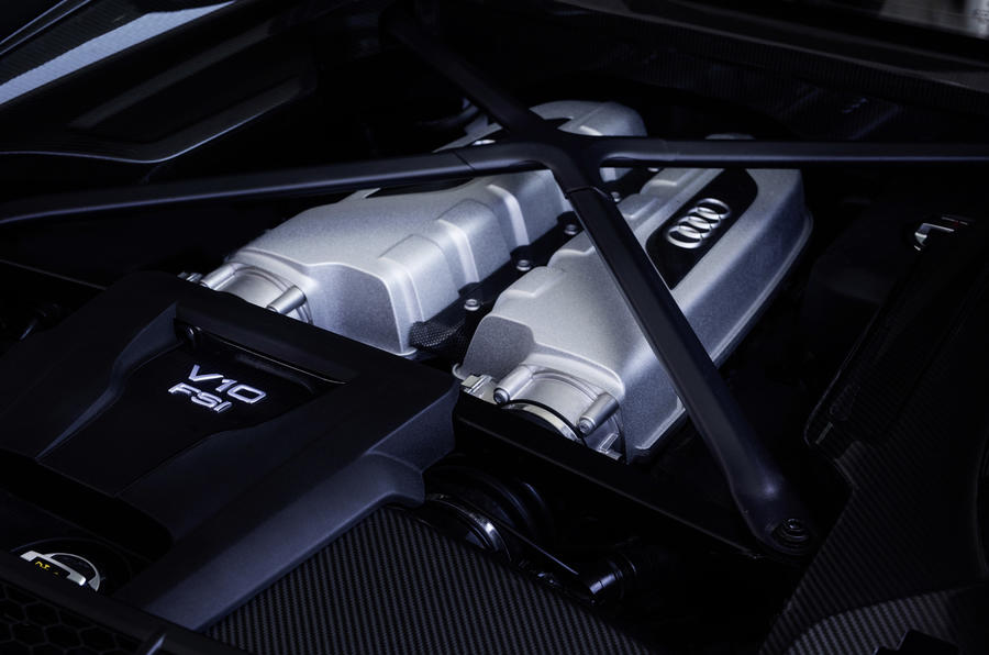 5.2-litre V10 in the Audi R8