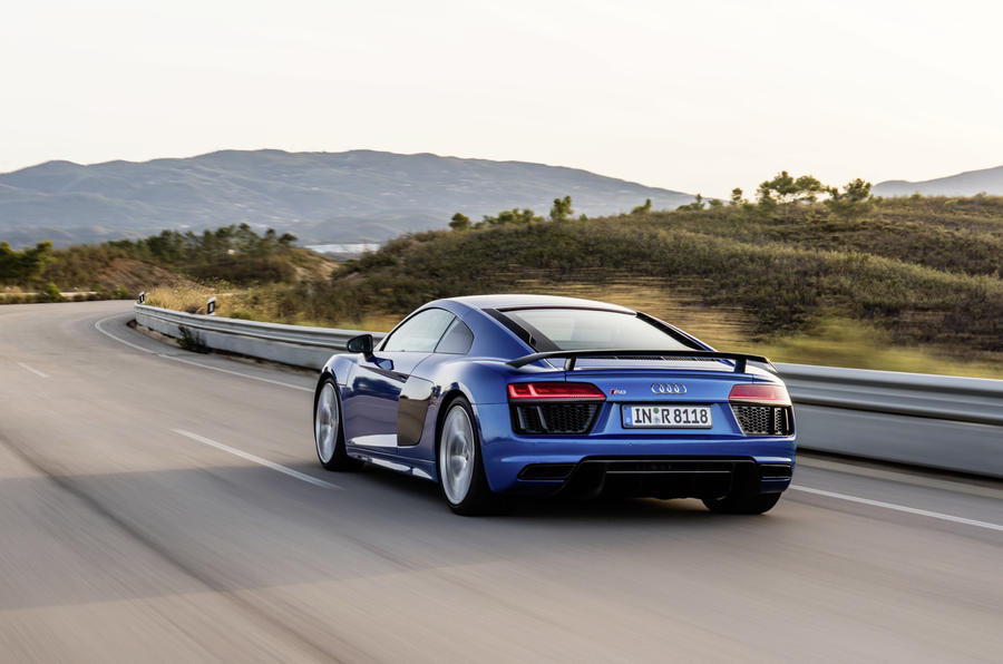 The 2015 Audi R8 V10 Plus