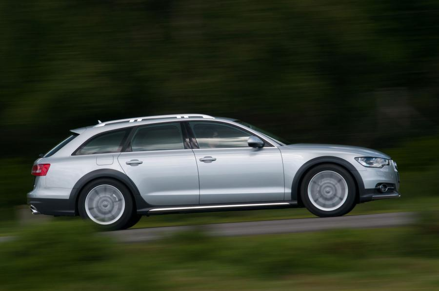Offroad-going Audi A6 Allroad