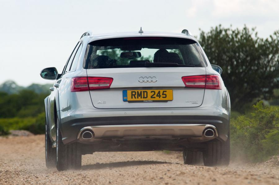 audi a6 allroad test