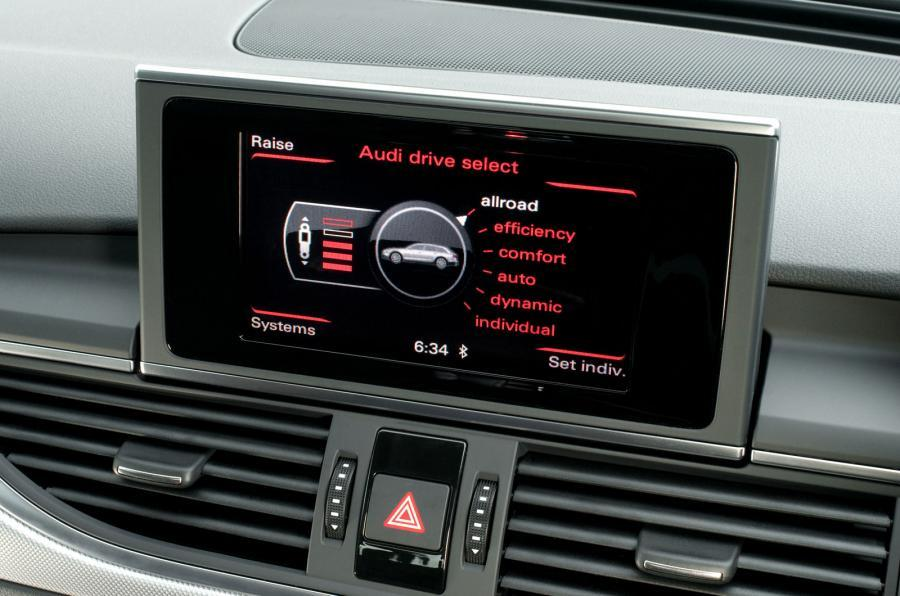 Infotainment in Audi A6 Allroad