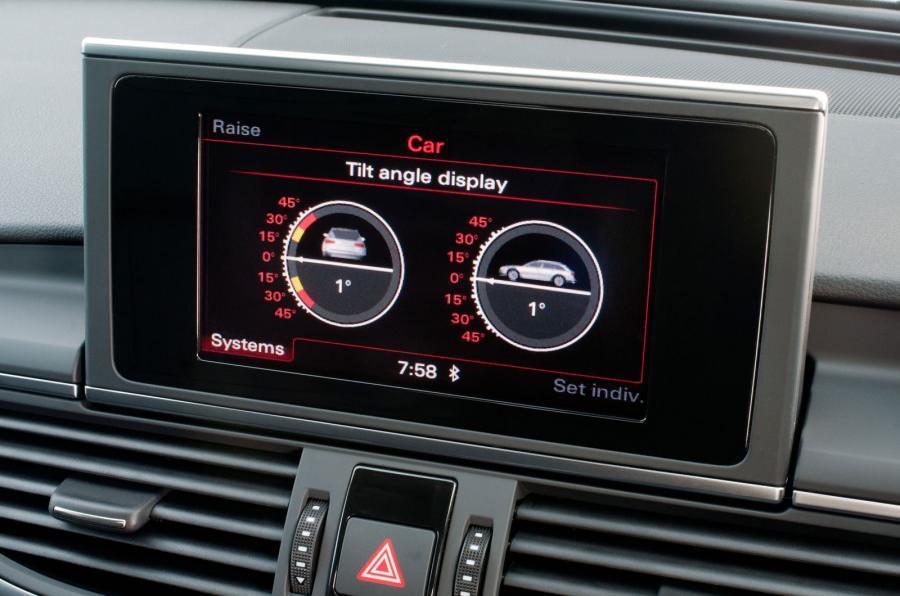 Audi A6 Allroad tilt system