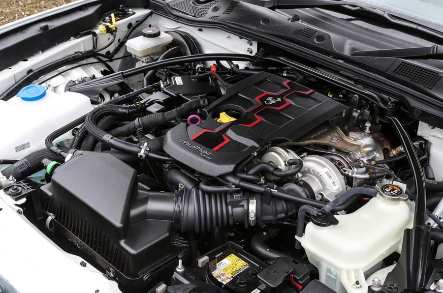1.4-litre Abarth 124 Spider engine