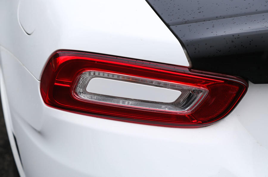 Abarth 124 Spider rear lights