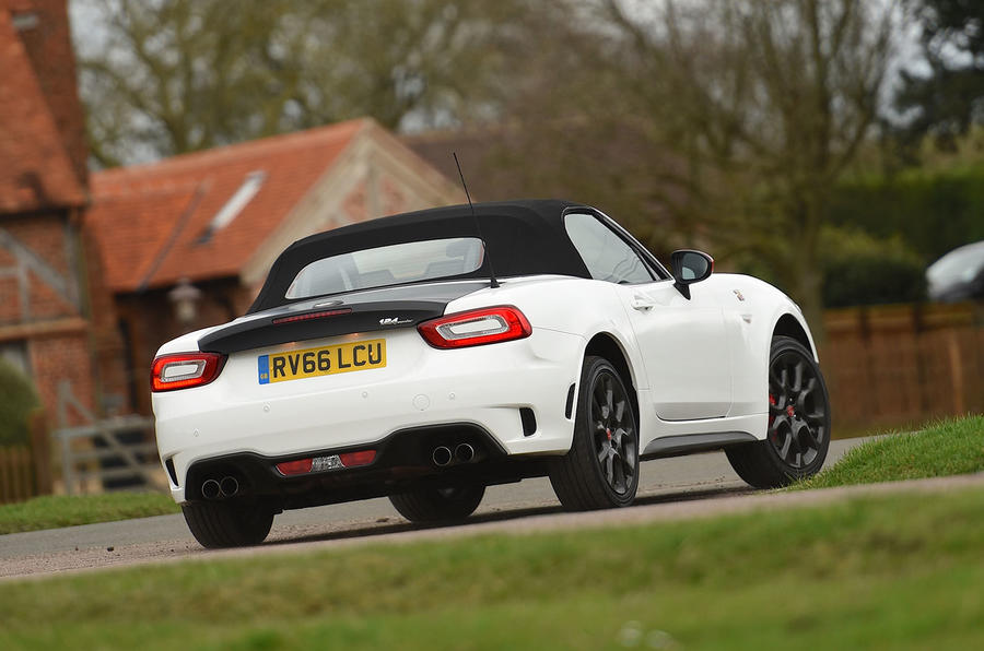 abarth 124 spider review 2019 autocar. Black Bedroom Furniture Sets. Home Design Ideas