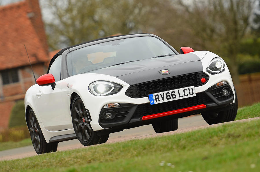 abarth 124 spider review 2018 autocar. Black Bedroom Furniture Sets. Home Design Ideas