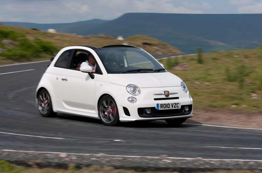 abarth 595 performance autocar. Black Bedroom Furniture Sets. Home Design Ideas