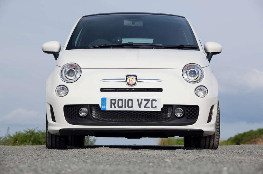Abarth 595 front end