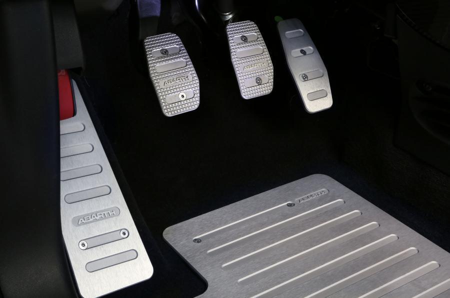 Fiat Abarth 695 aluminium pedals