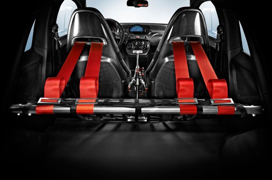 Fiat Abarth 695 racing harnesses