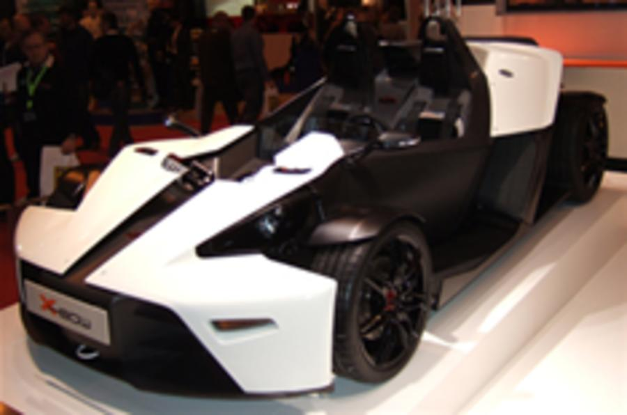 KTM X-Bow wows crowds at Autosport show
