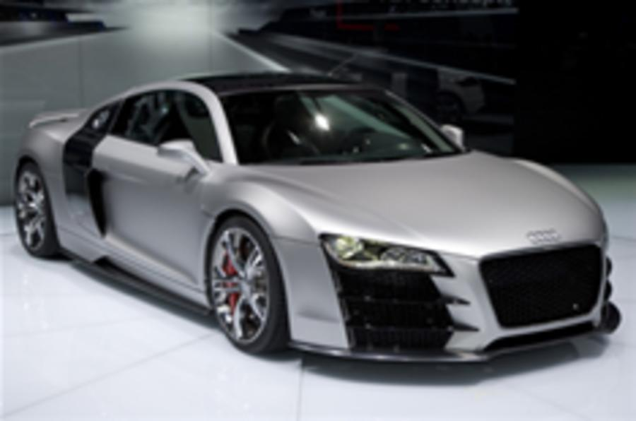 Rock star of the show: Audi R8 V12 TDi