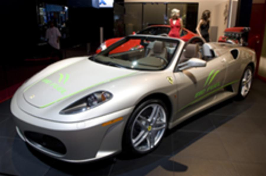 Ferrari goes green with the ethanol F430