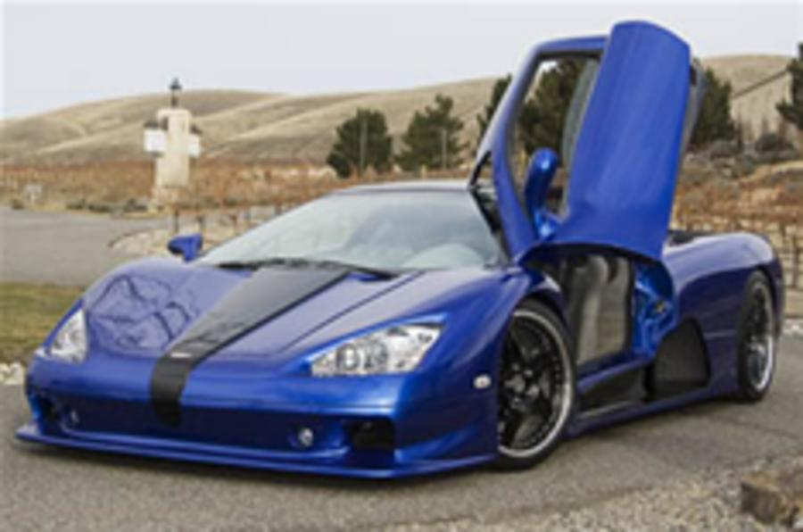 US supercar-maker aims to topple Veyron