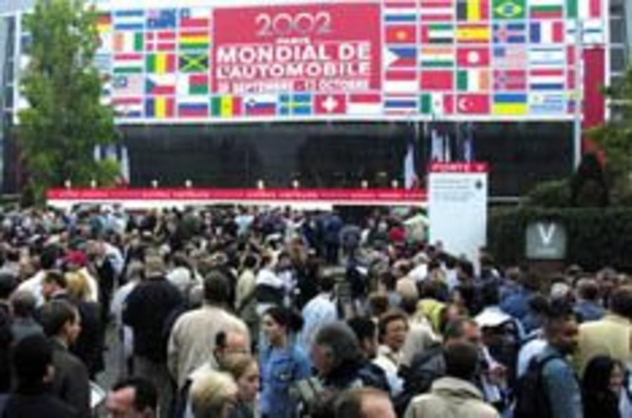 Paris dismisses Brit motor show ambition