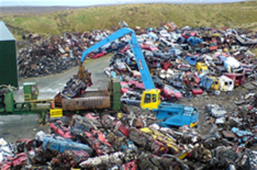 US gets £2750 scrappage scheme