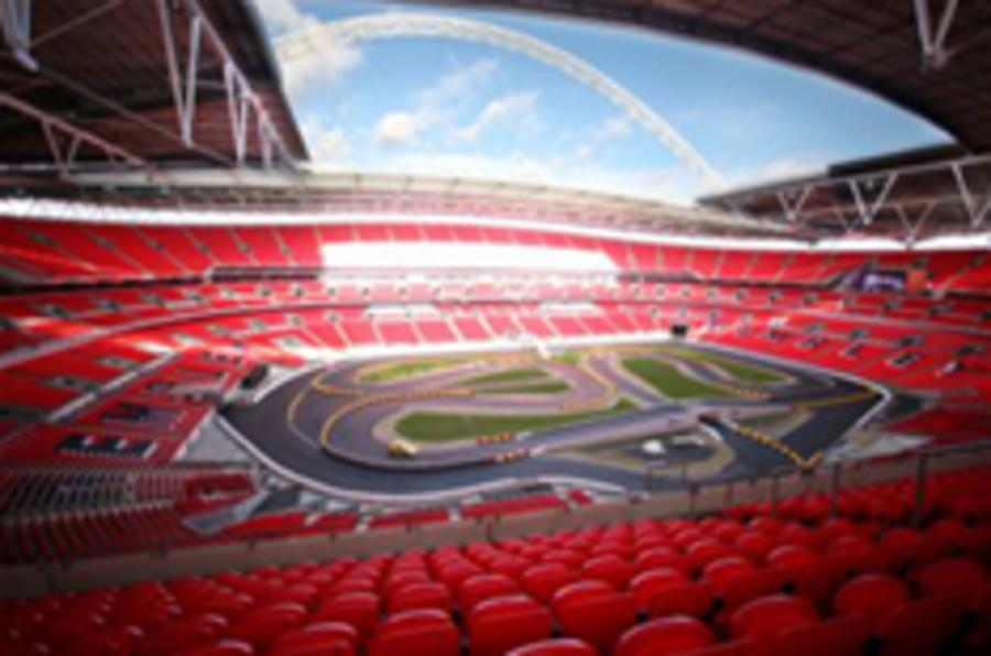 Motorsport takes over at Wembley