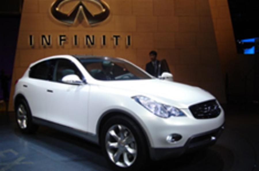 Infiniti SUV steals the show in New York