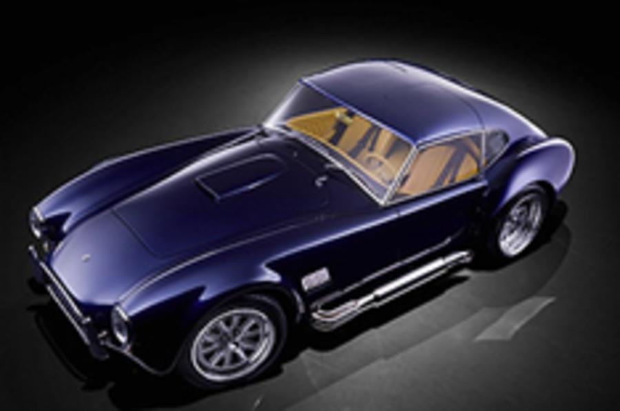 Revealed: new 'AC Cobra'