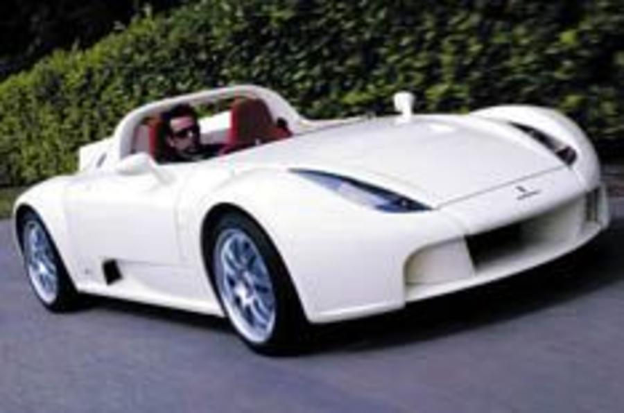 Pininfarina roadster is go?