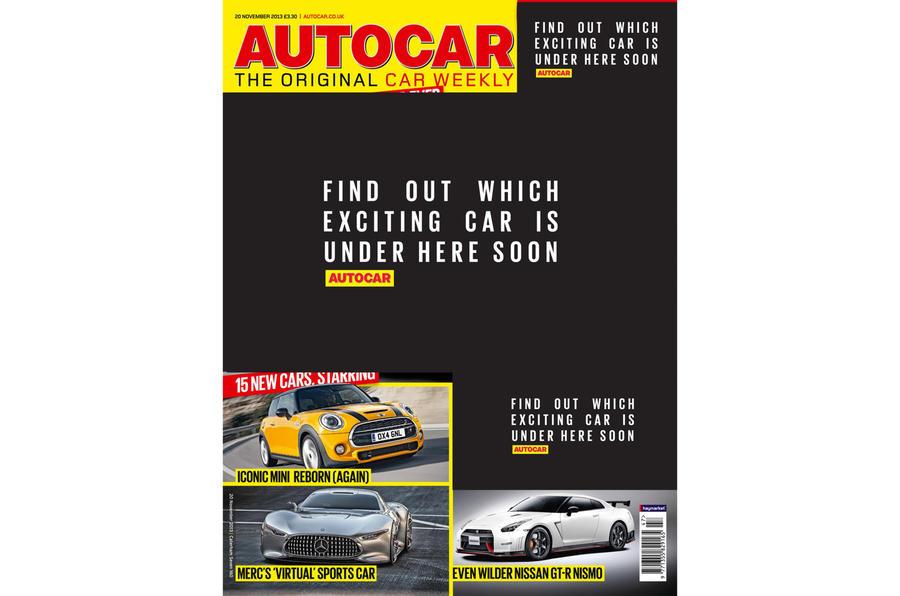 Autocar magazine preview 20 November