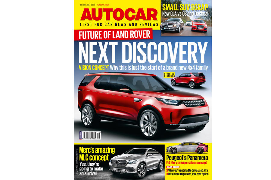 Autocar magazine preview 16 April