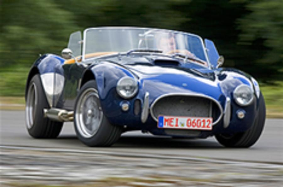 AC 'Cobra' driven - and drifted!