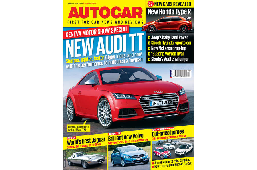 Autocar magazine 5 March preview