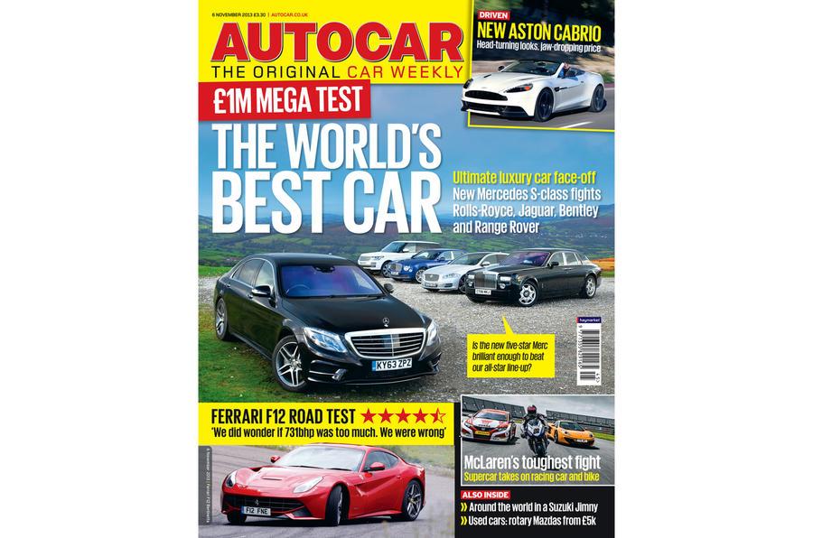 Autocar magazine 6 November preview