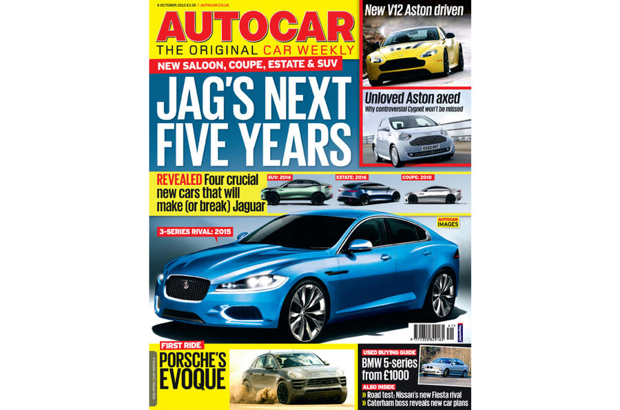 Autocar magazine 9 October preview