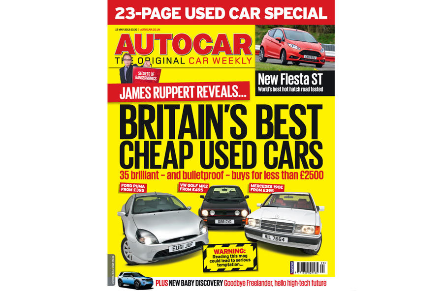 Autocar magazine 15 May preview