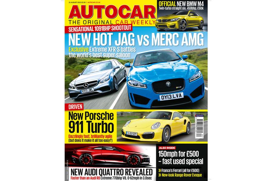 Autocar magazine 21 August preview