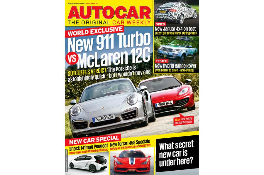 Autocar magazine 28 August preview