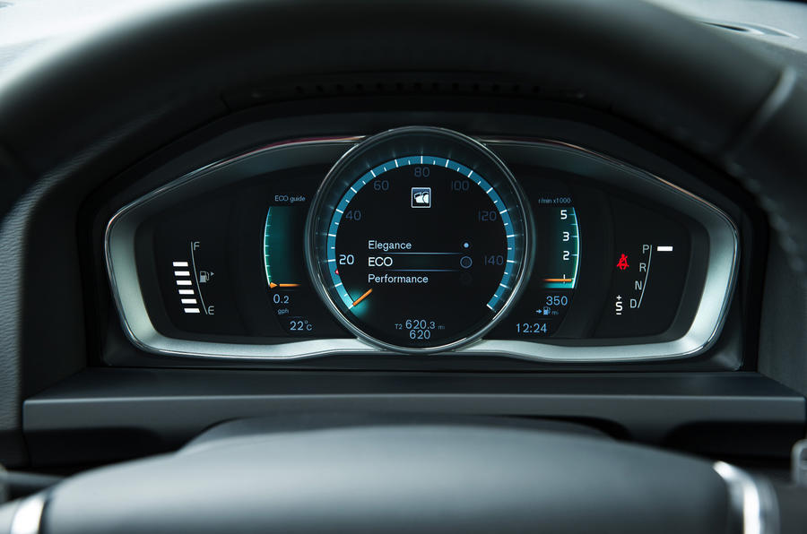 V6 Cross Country instrument cluster