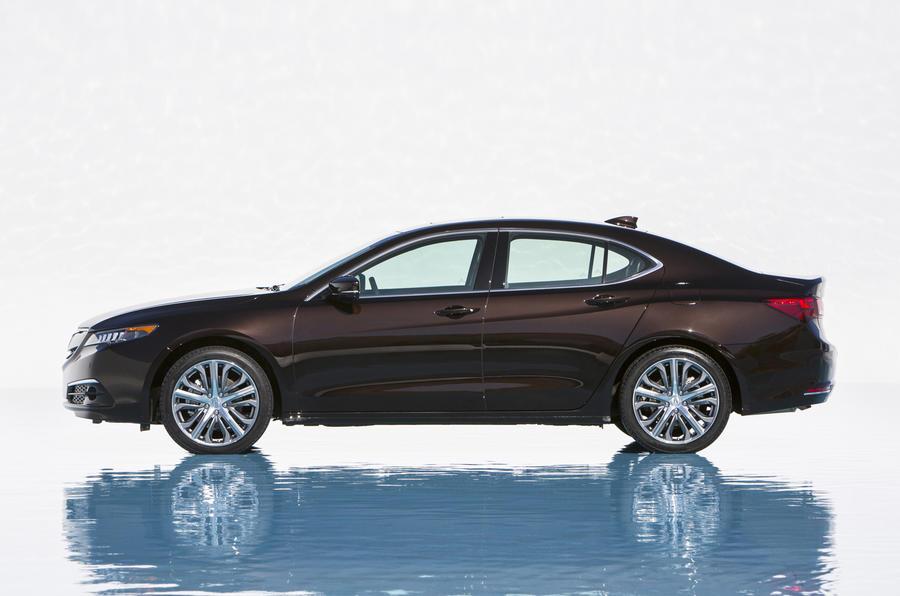 Production-ready Acura TLX saloon revealed