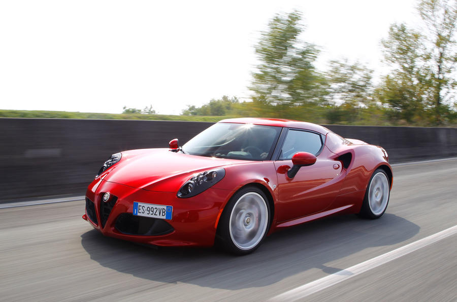 alfa romeo 4c review 2017 autocar. Black Bedroom Furniture Sets. Home Design Ideas