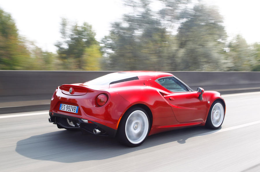Alfa Romeo 4C has good fuel economy