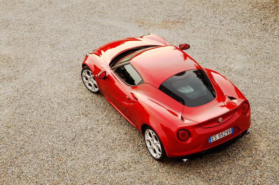 The 240bhp Alfa Romeo 4C