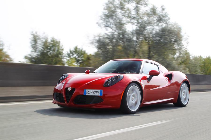 4.5 star Alfa Romeo 4C