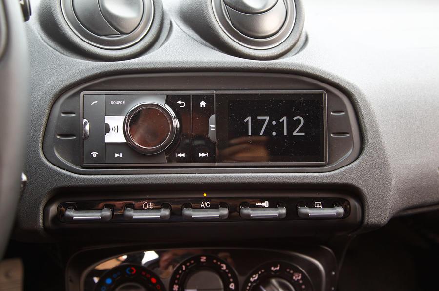 Alfa 4C's audio system